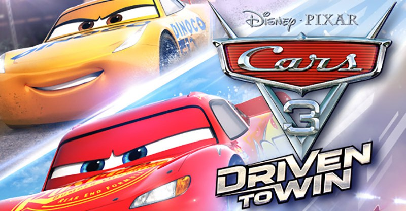review cars 3 driven to win ps4. Black Bedroom Furniture Sets. Home Design Ideas