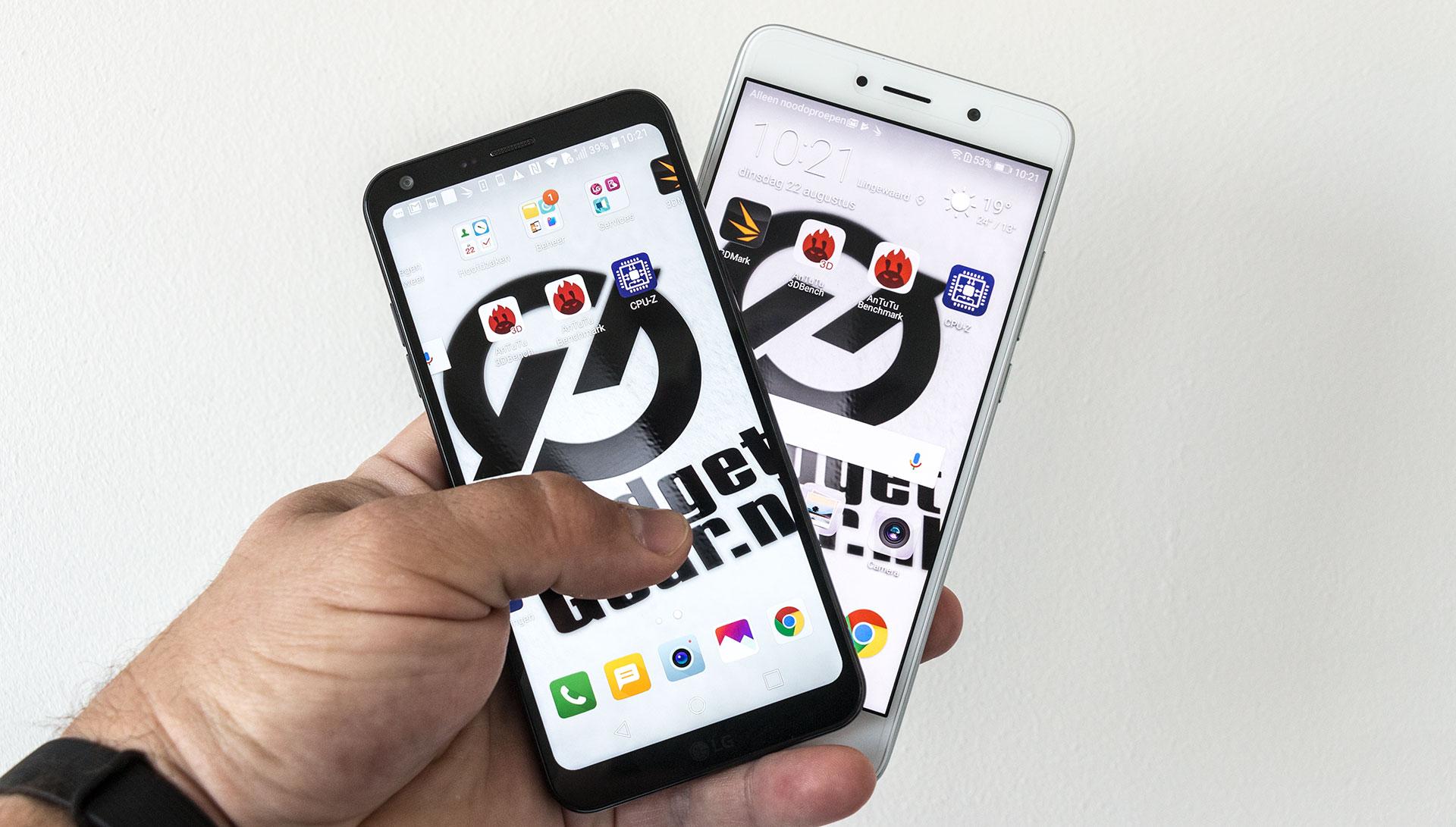 LG Q6 vs. Huawei Y7
