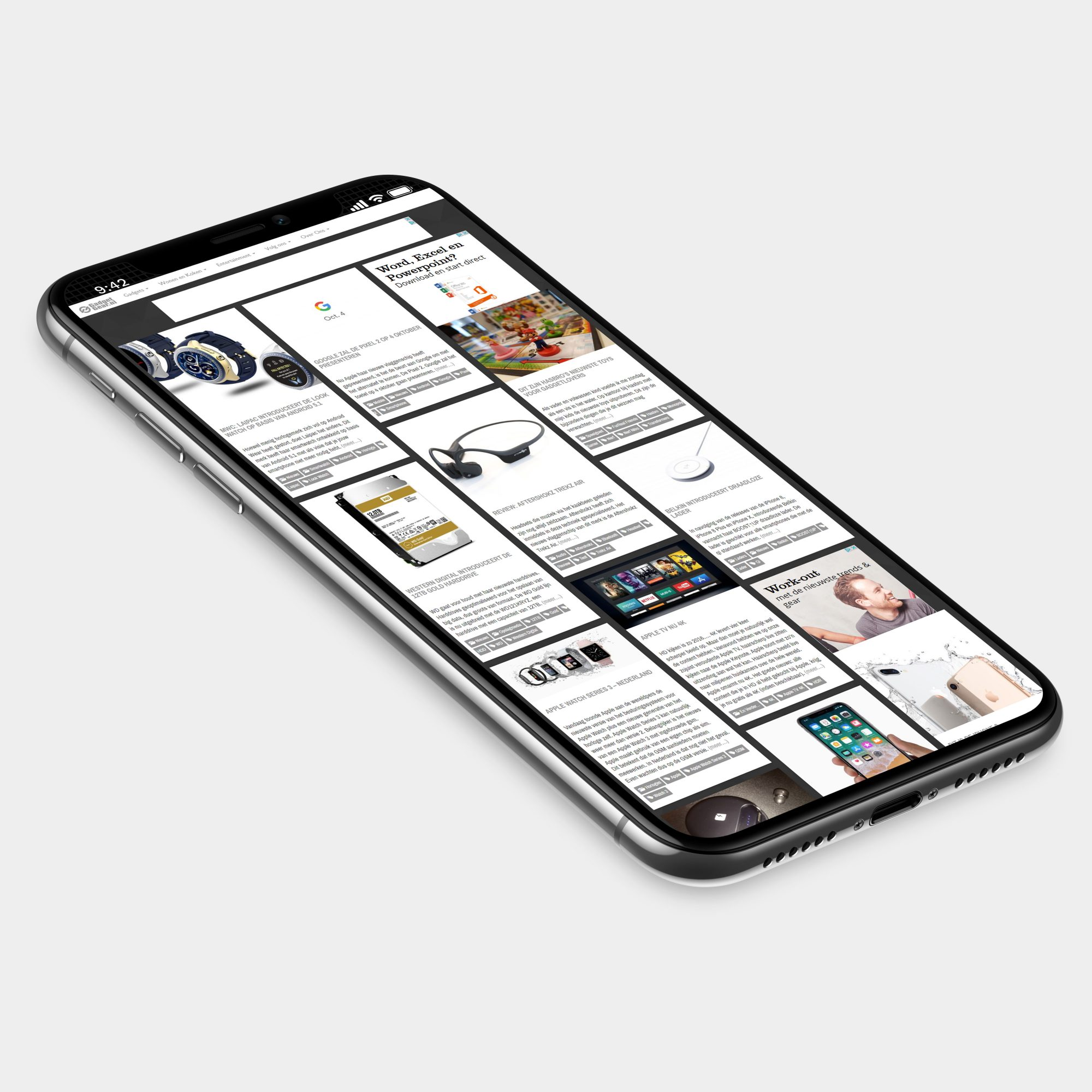 Apple iPhone X GadgetGear