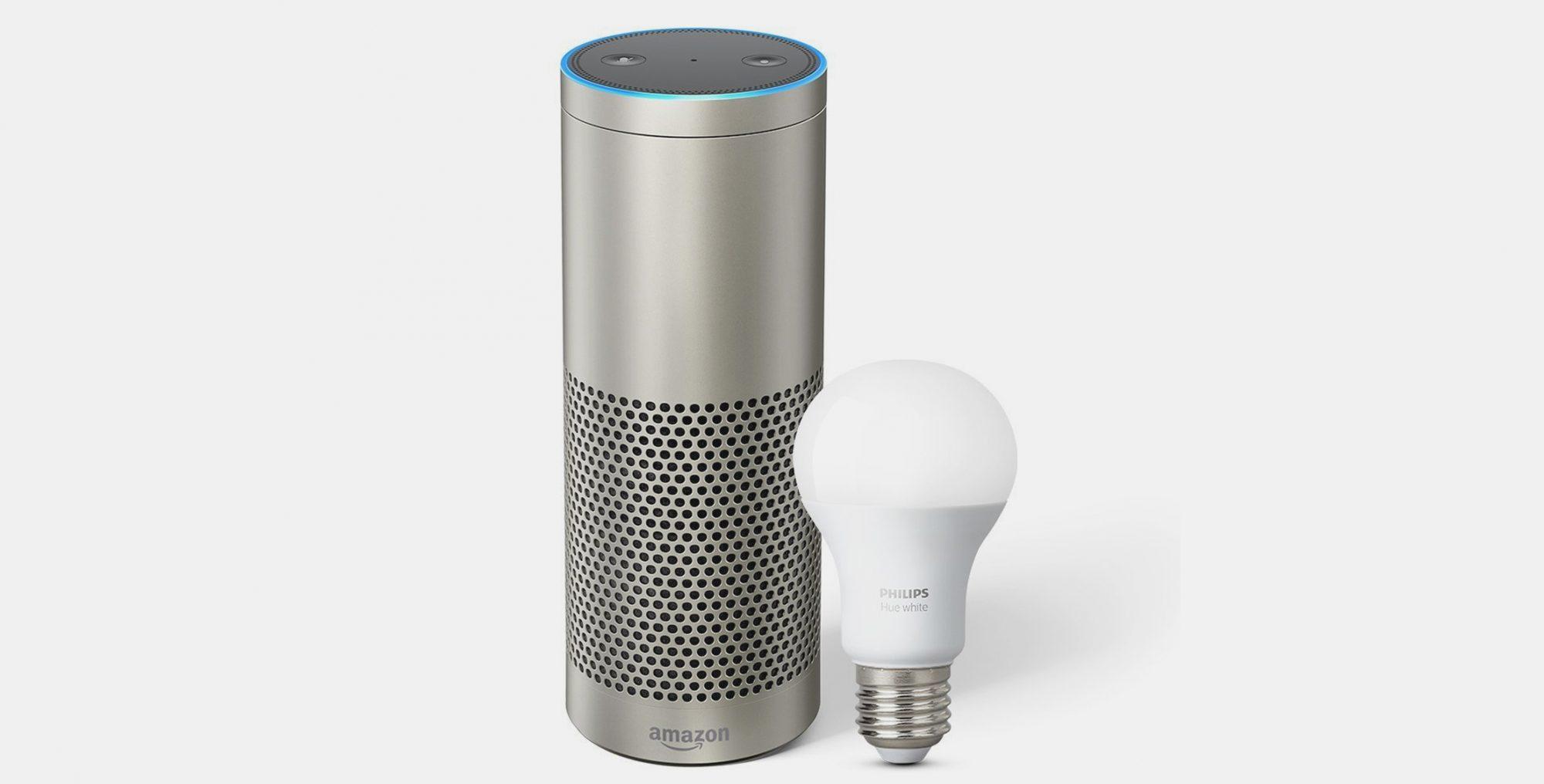 Amazon Echo Plus met Philips Hue