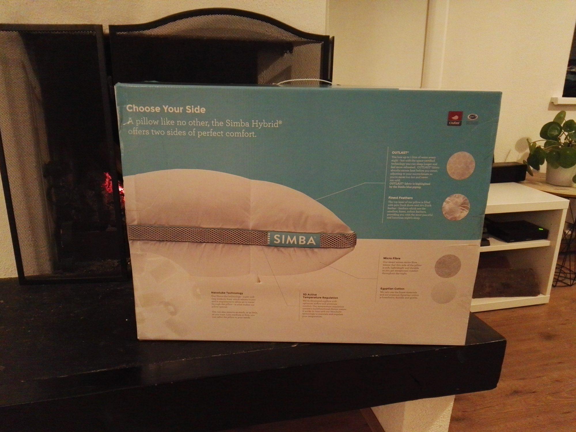 Simba Matras Ervaringen : Review simba hybrid kussen gadgetgear