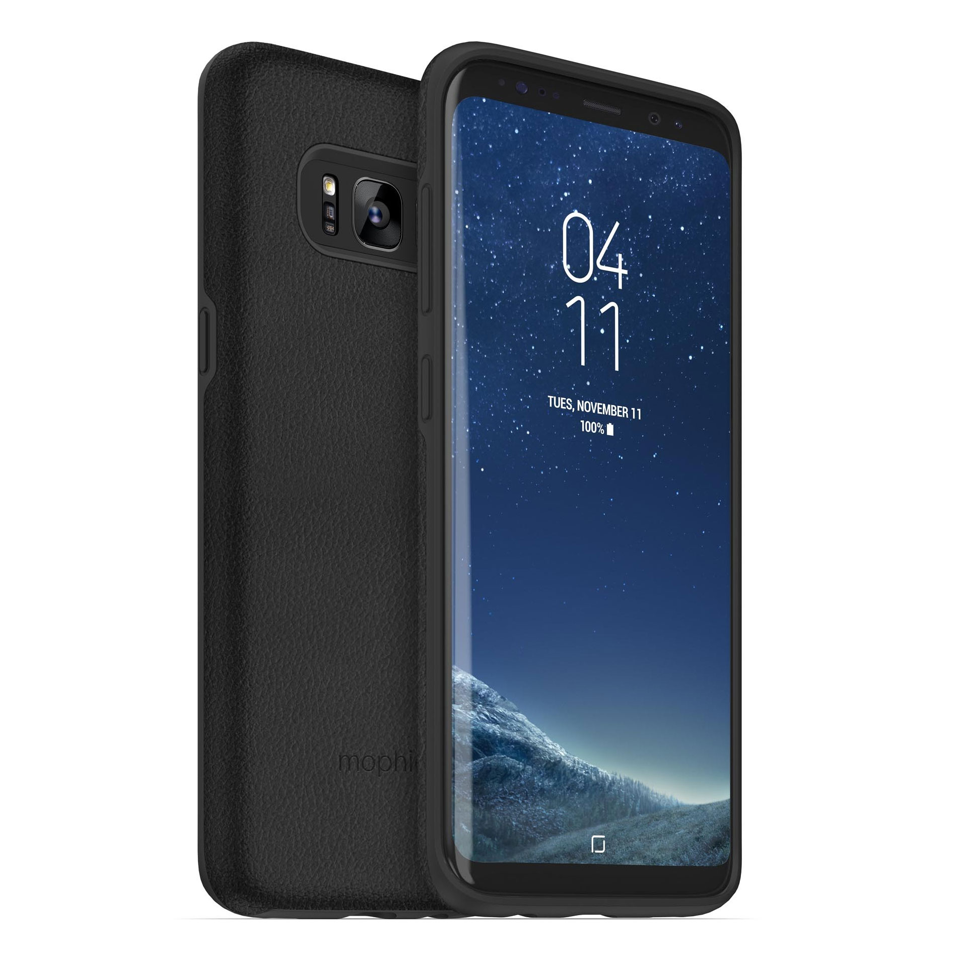 review mophie charge force case powerstation mini galaxy s8. Black Bedroom Furniture Sets. Home Design Ideas