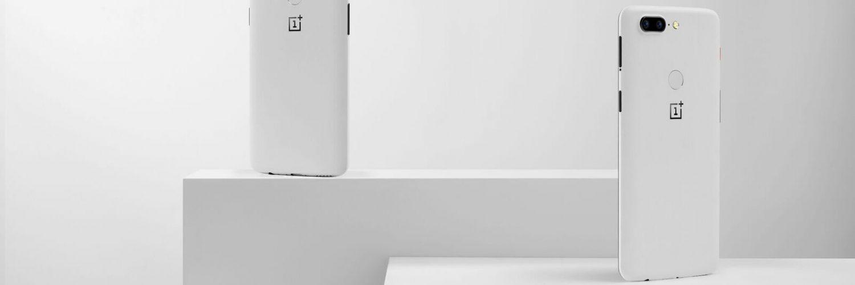 OnePlus 5T Sandstone White Moodshot
