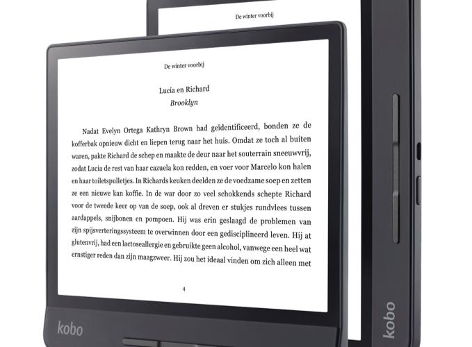 Kobo komt met 8 inch eReader - GadgetGear.nl