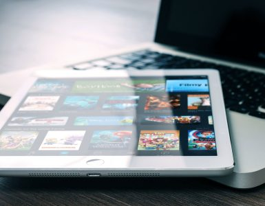 Netflix op een Apple iPad