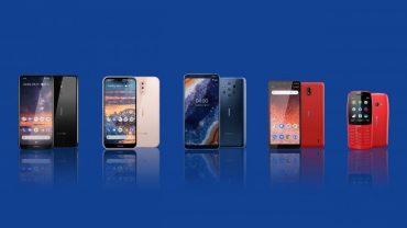 Nokia 2019 line-up MWC