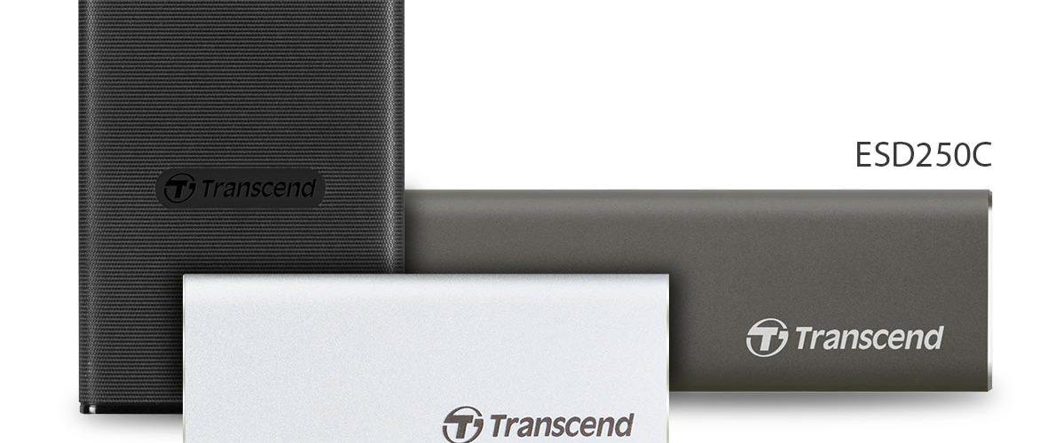 Transcend ESD230C, ESD240C en ESD250C SSD's