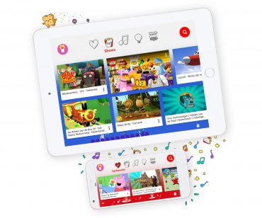 YouTube Kids op tablet en smartphone