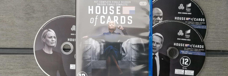 Packshot House of Cards Seizoen 6