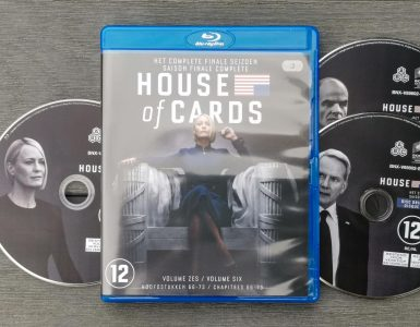 Packshot House of Cards Seizoen 6