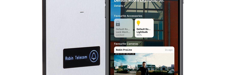 Robin Telecom ProLine deurbel met iPhone app