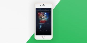 Spotify op iOS