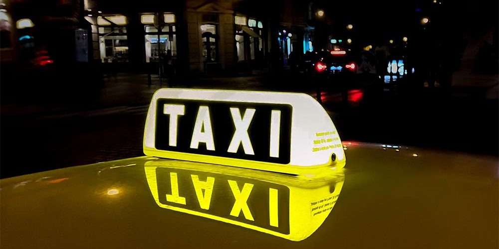 Taxi verlichting