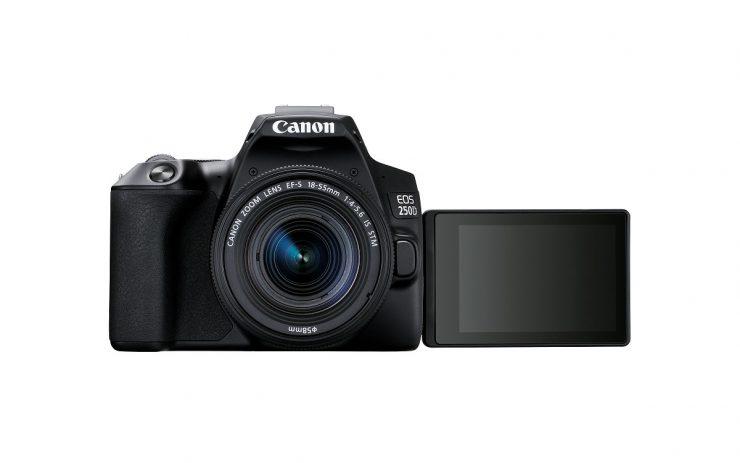 Canon EOS 250D Zwart