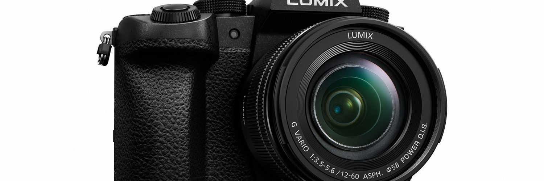 Panasonic Lumix G90 Voorkant