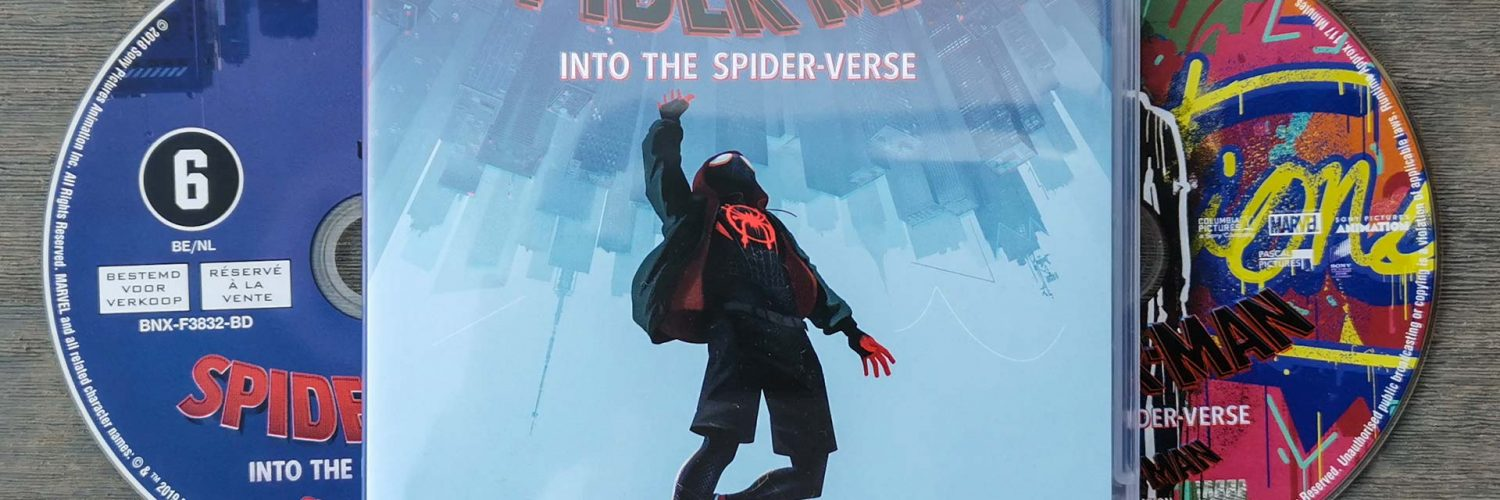 Spider-Man - Into the Spiderverse Packshot