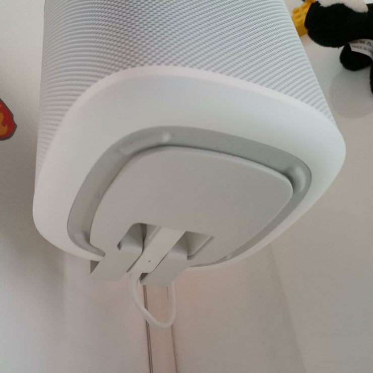 Vogel's Wall Mount for Sonos One & Play:1 onderkant Sonos One