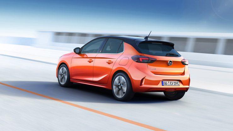 Opel Corsa-e 2019 Achterkant