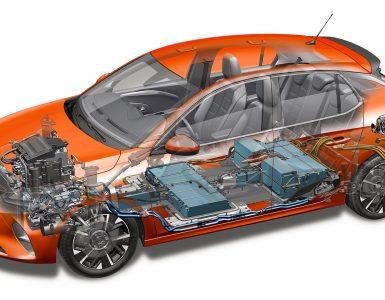 Opel Corsa-e 2019 schema