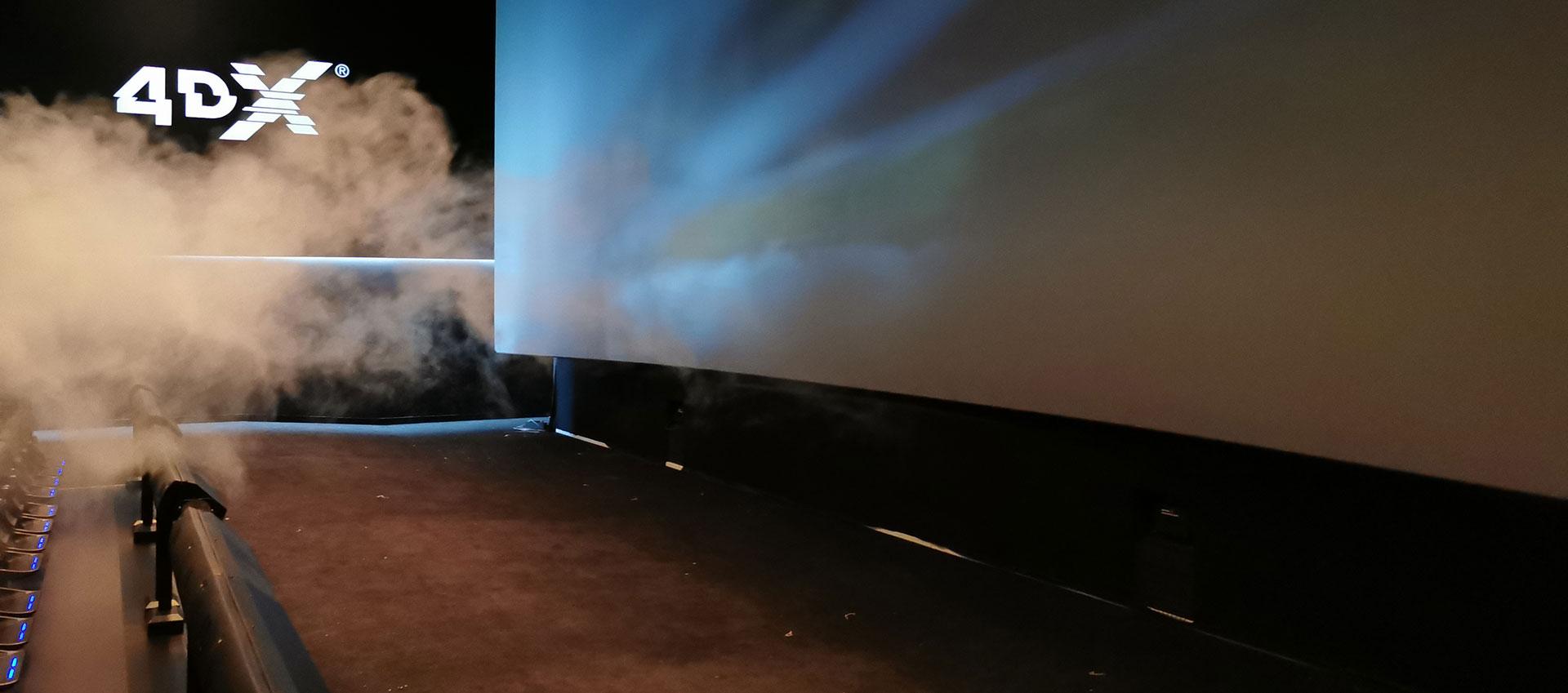 4DX Rook Effect bij Pathé Nijmegen