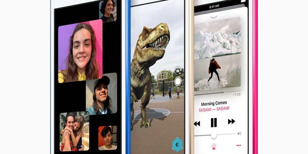 Apple iPod Touch 2019 Kleuren