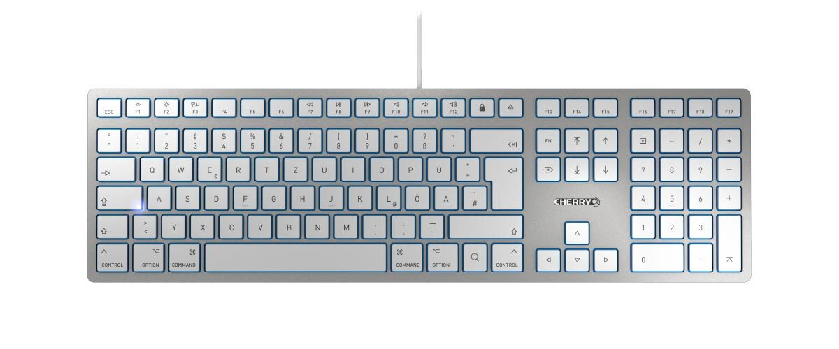 Cherry KC 6000 Slim for Mac toetsenbord