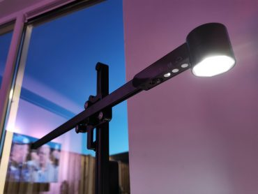 Dyson Lightcycle lamp bovenkant