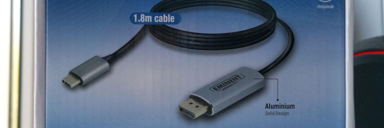 Eminent AB7875 USB-C to DisplayPort 4K Connection Cable Doosje