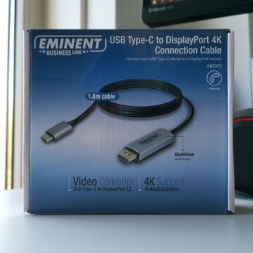 Eminent AB7875 USB-C to DisplayPort 4K Connection Cable Doosje