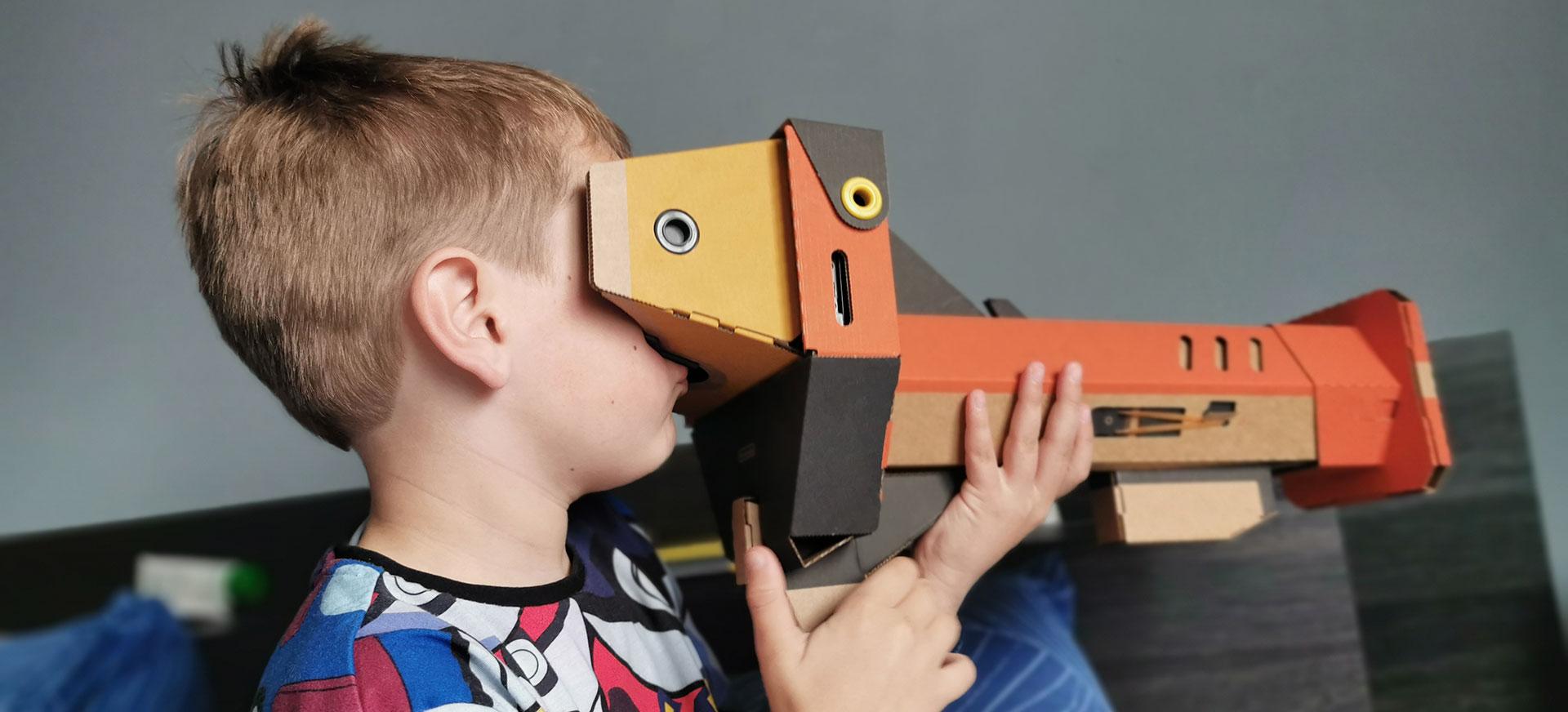 Nintendo Labo VR Bril Knaller