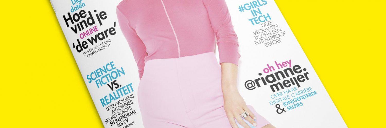 Cosmopolitan Cover met Rianne Meijer