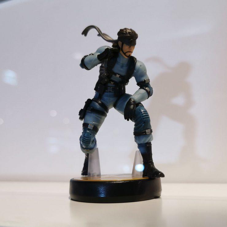 Nintendo Amiibo Solid Snake