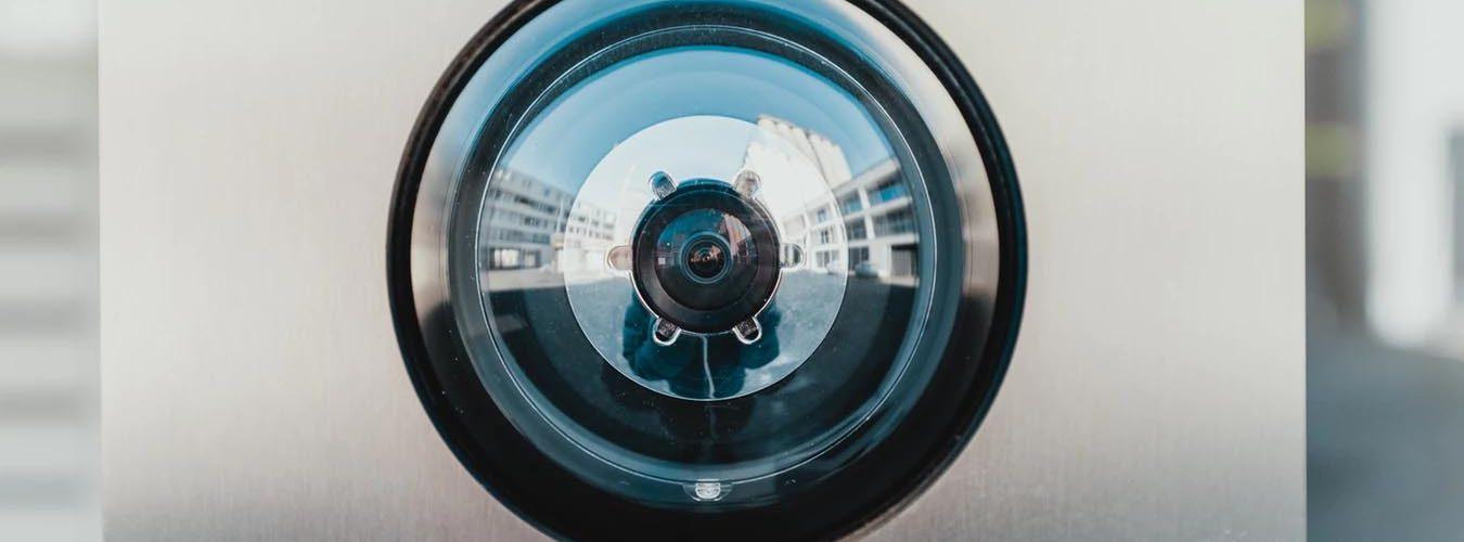Oog van een camera
