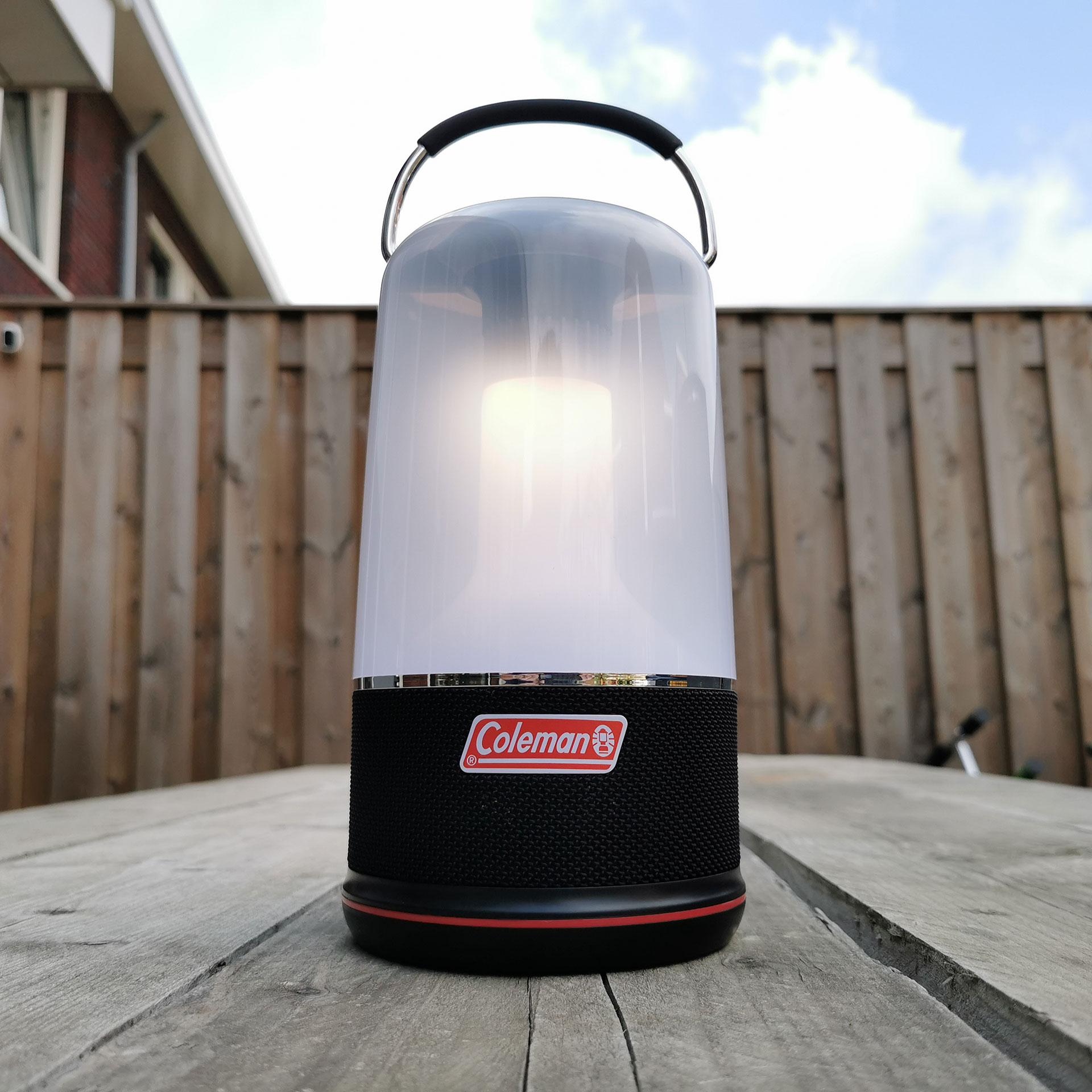 Coleman 360 Sound & Light lantaarn