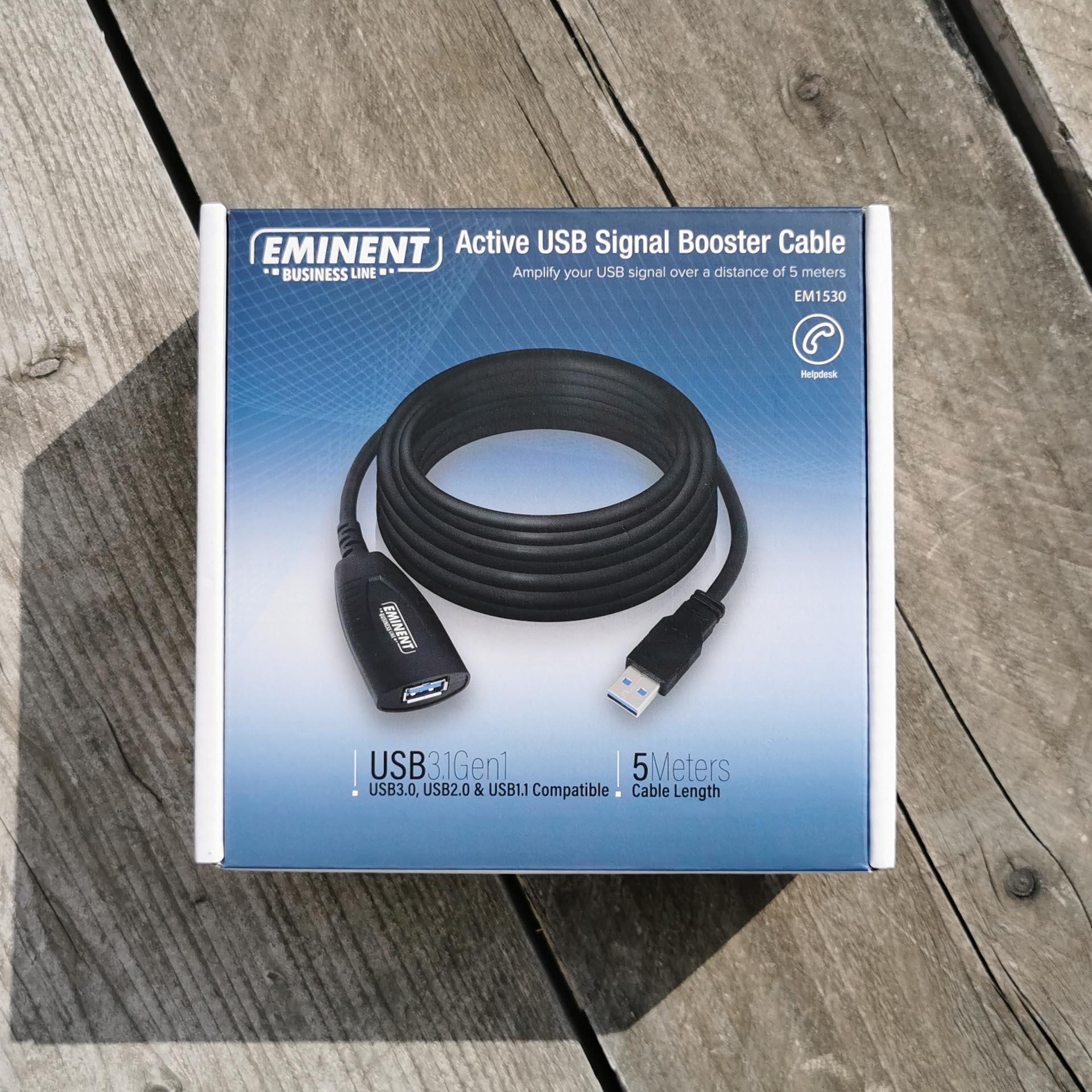 Eminent Business Line Active USB Signal Booster Cable EM1530 Doosje