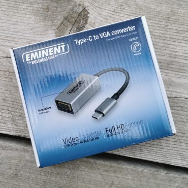 Eminent Business Line Type-C to VGA Converter doosje