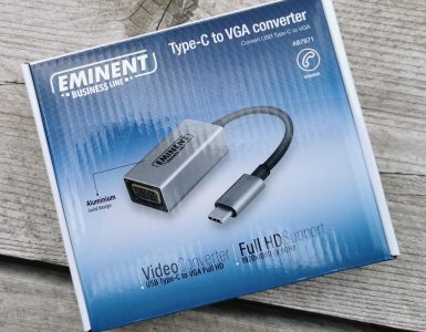 Eminent Business Line Type-C to VGA Converter doosje