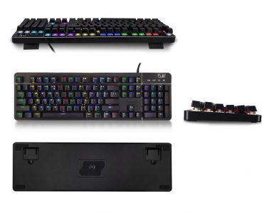 Ewent Play PL3350 RGB Mechanisch Gaming Toetsenbord