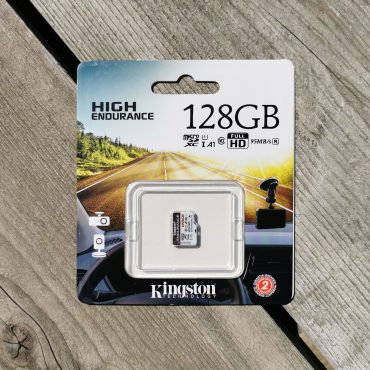 Kingston High Endurance 128GB microSDXC Kaart 128GB Verpakking