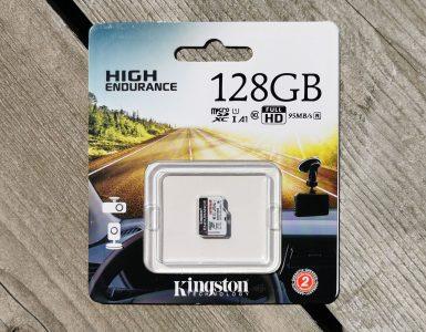 Kingston High Endurance 128GB microSDXC Kaart 128GB Verpakking