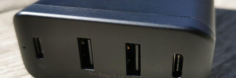 Pepper Jobs PD9000 AC/DC adapter Aansluitingen