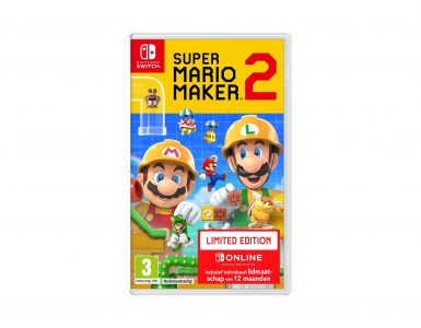 Super Mario Maker 2 Limited Edition Doosje