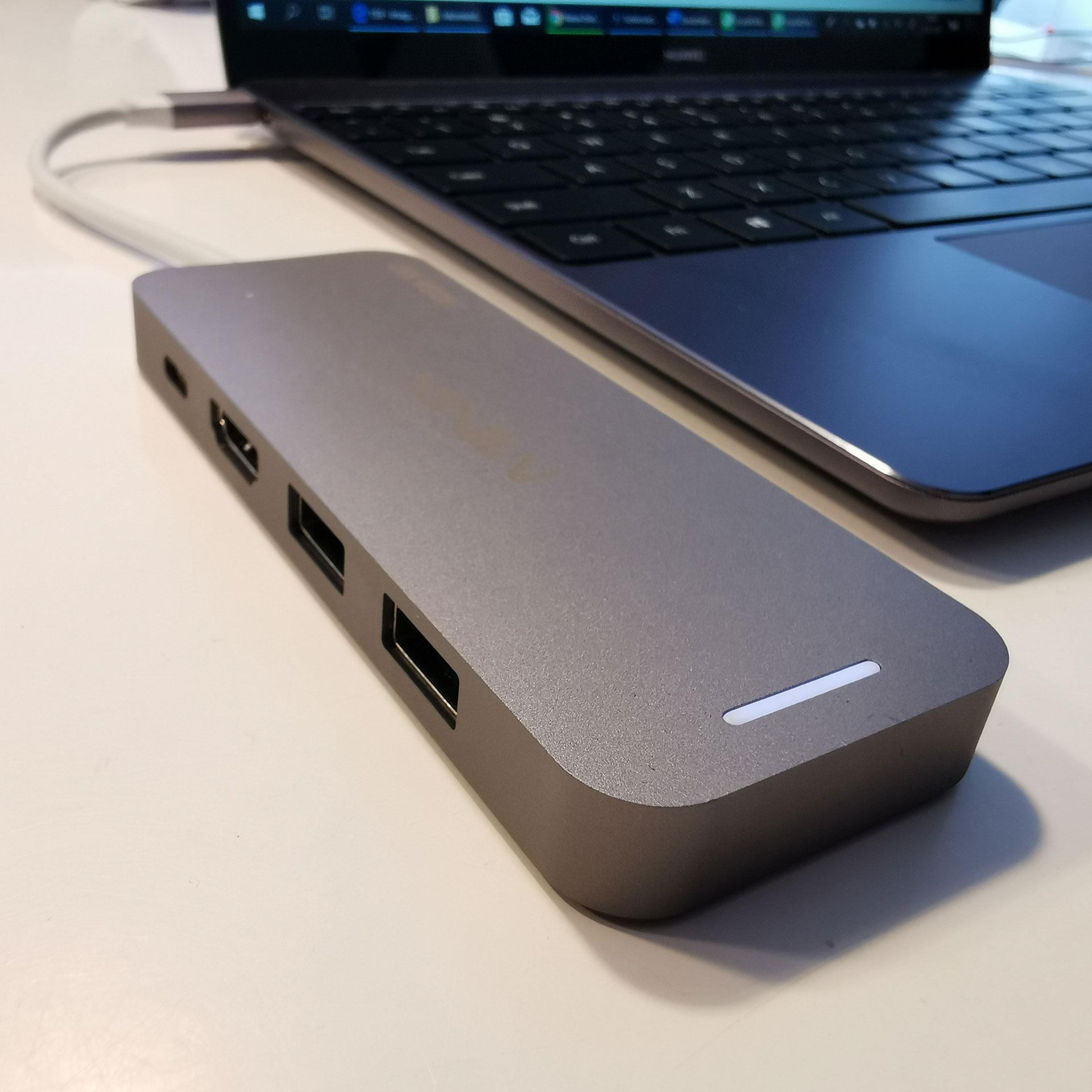 Minix USB-C Multiport Storage Hub 240GB