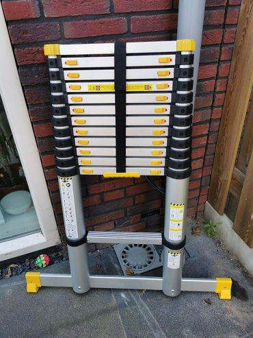 Mr Safe Telescopische Ladder 4.6m Ingeklapt