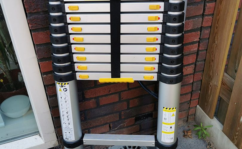 Mr Safe Telescopische Ladder 4.6m Ingeklapt