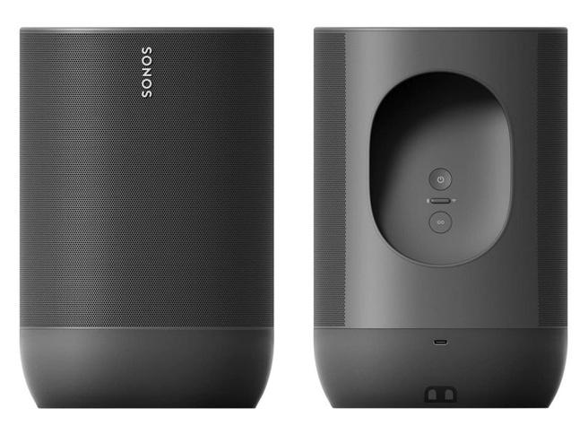 Sonos Move Voor en Achter