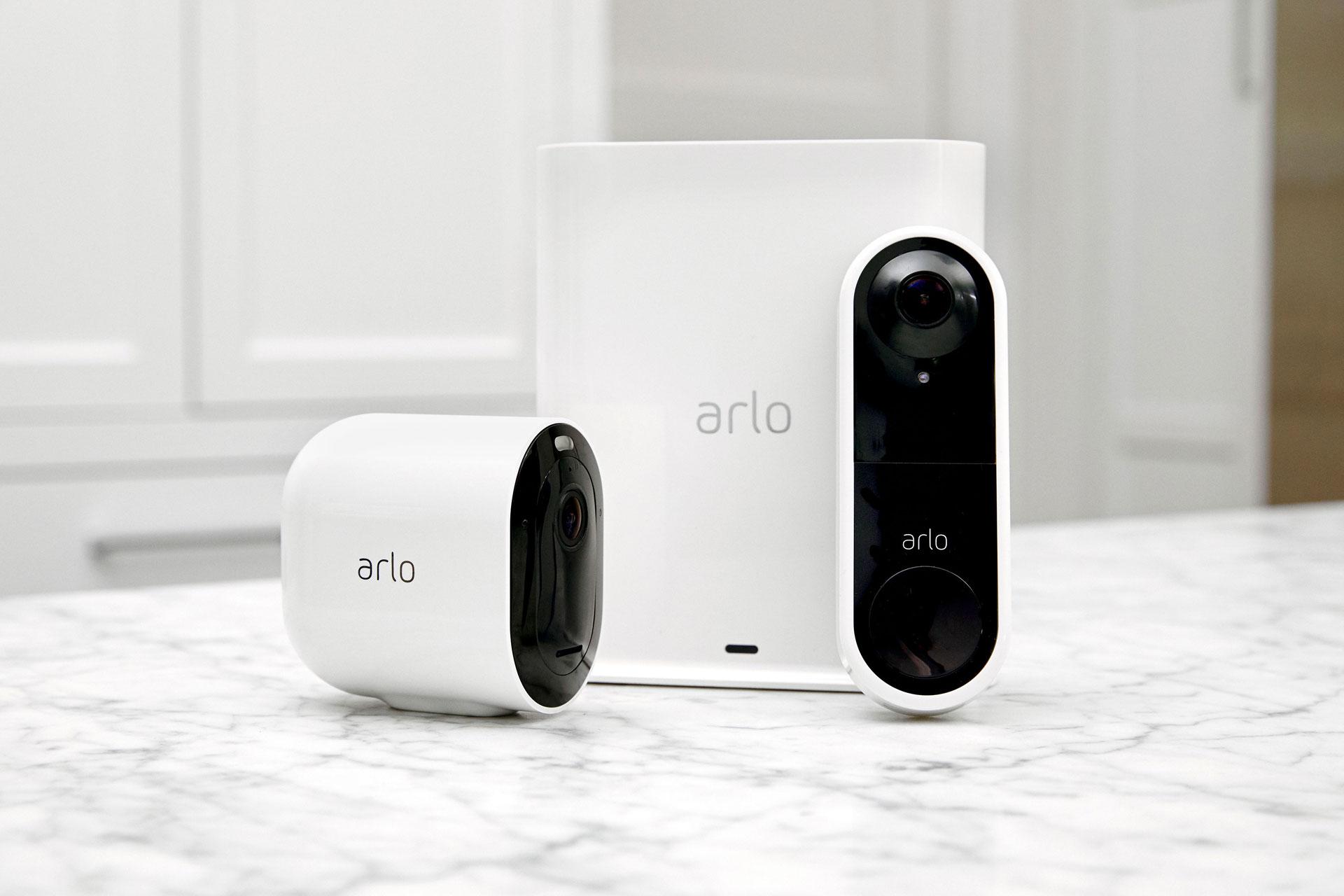 Arlo Videodeurbel en Arlo Ultra