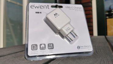 Ewent USB-C Charger EW1315 Verpakking