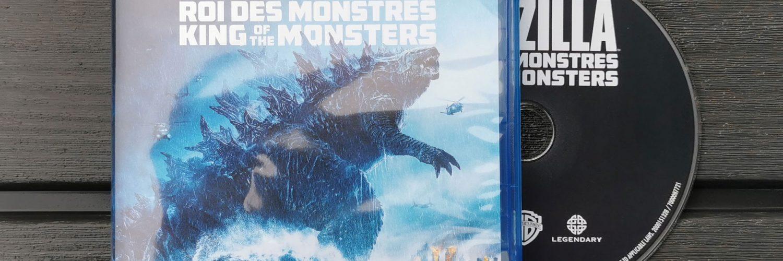 Godzilla King of the Monsters Blu-Ray