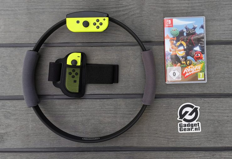 Nintendo Switch Ring Fit Adventure Kit
